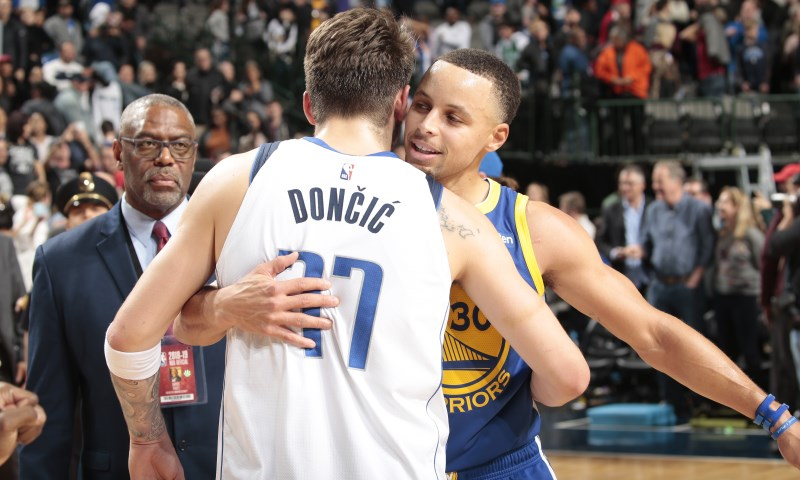 Luka Doncic Stephen Curry