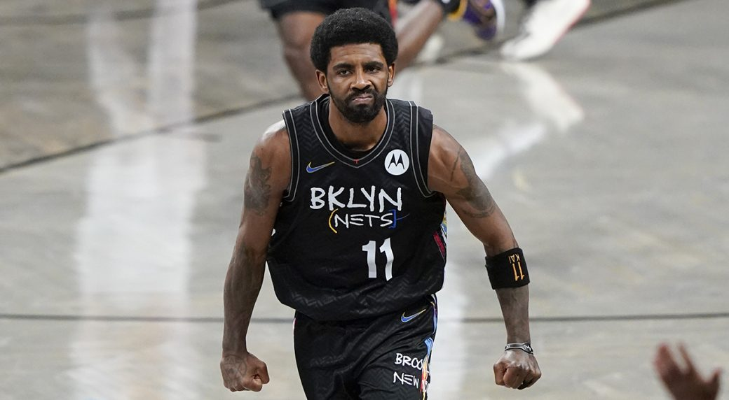Kyrie Irving Brookly Nets 2021