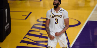 Antohny Davis Los Angeles Lakers