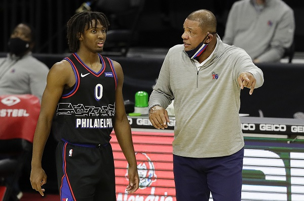 doc rivers tyrese maxey