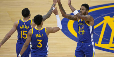 Warriors beat Pelicans, jordan poole 38 points