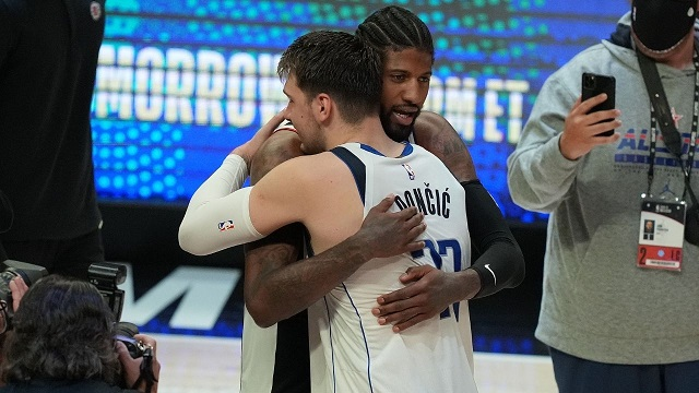 luka doncic paul george after game 7